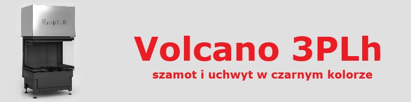 vol 3plh black 5e4bed4b95331 - Wkład kominkowy Hajduk Volcano 3PLh