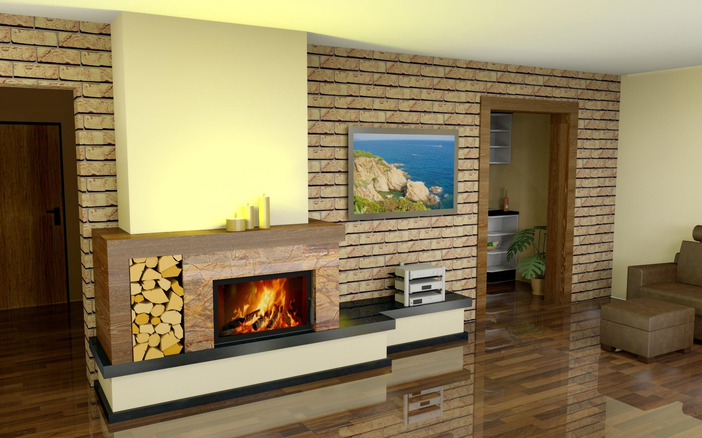projekt kominka na bazie wkładu firmy hajduk projekt dom