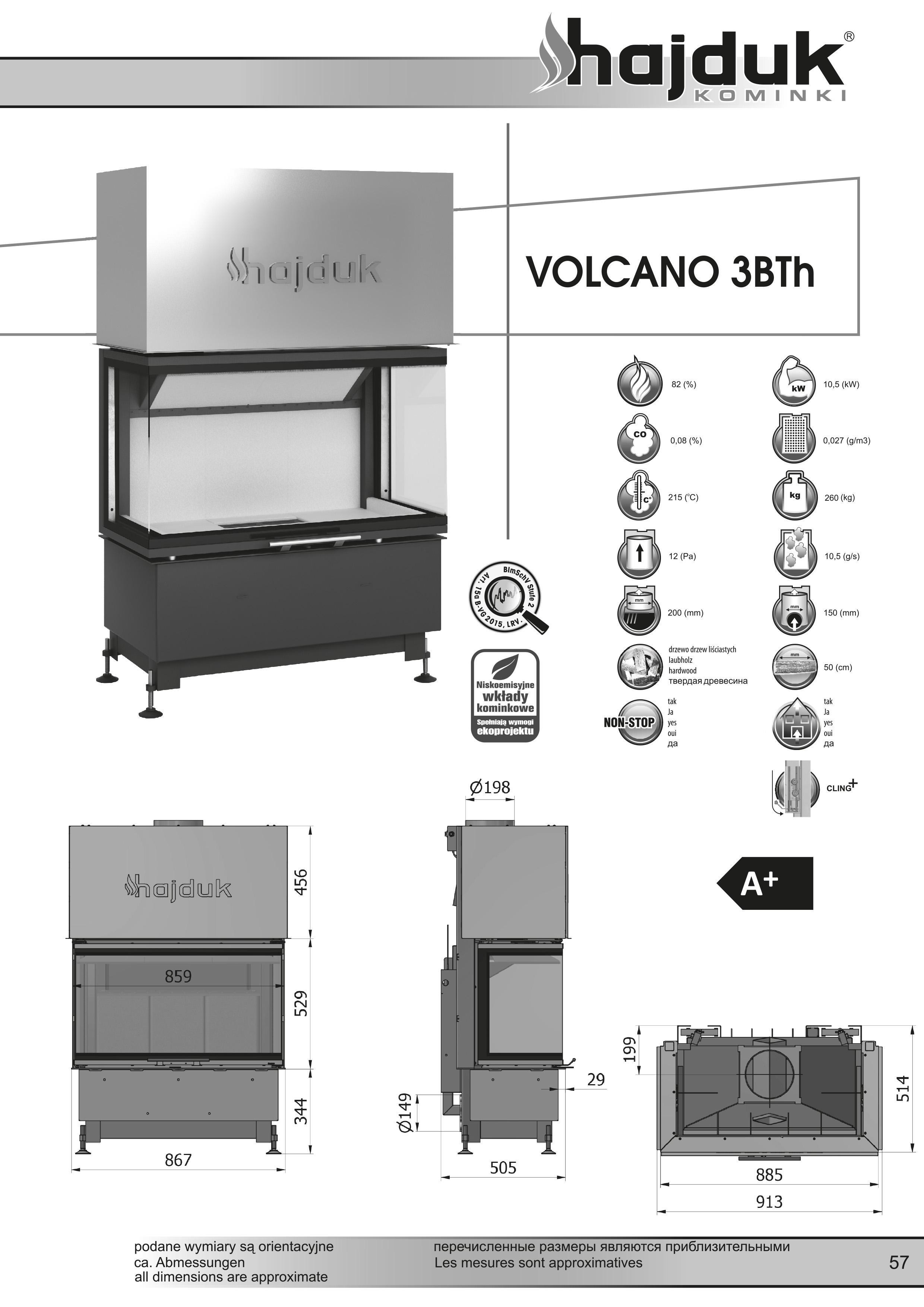 Volcano 3BTh