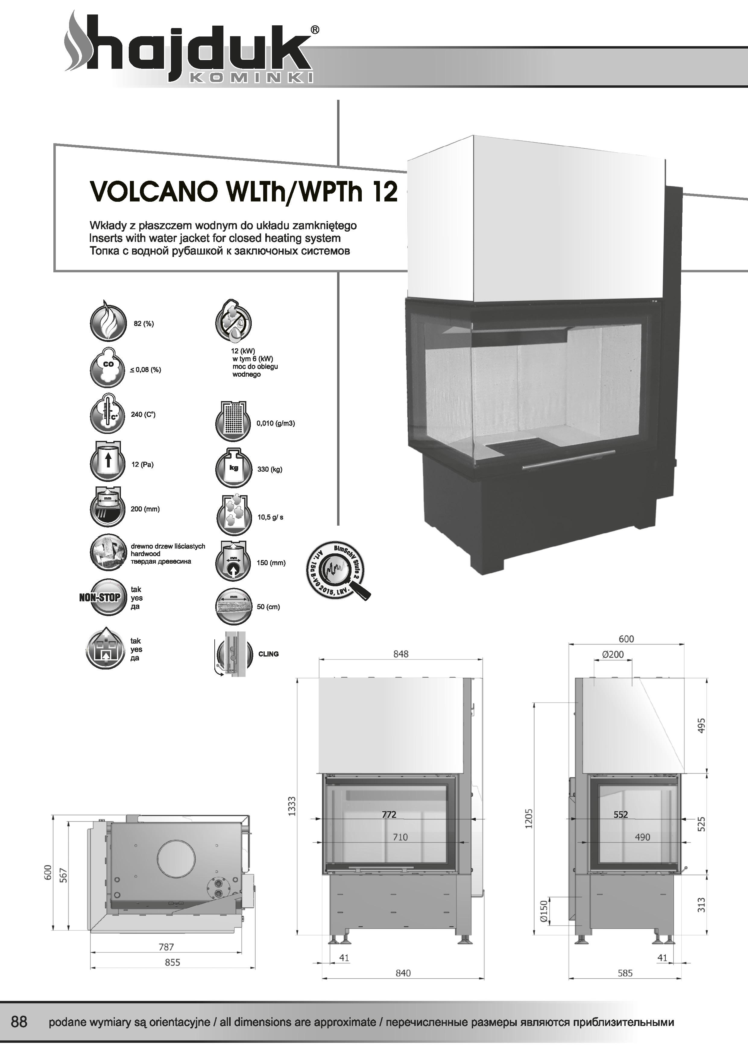 Volcano%20WLTh%20WPTh%20 %2012%20 %20karta%20techniczna - Hajduk  Volcano WPTh 12